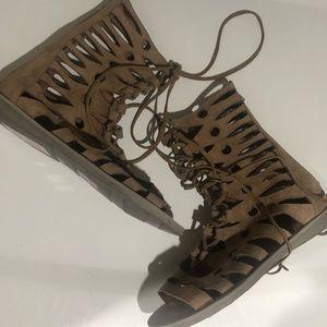 NWT Jeffrey Campbell Gladiator Sandals